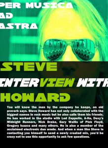Steve Howard Interview page 1
