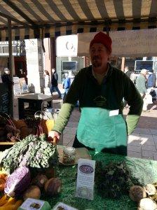 Joe Brandt's at the Alumhurst's Pork & Two Veg stall
