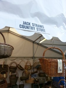 Jack Straws Countrystore offering hand made wicker bascets and more