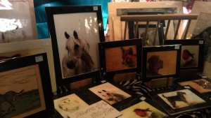 Framed artwork available for sale