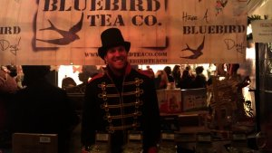 Bluebird Tea Co. at their stand