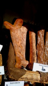 Bone shaped bread from Swift Bakery