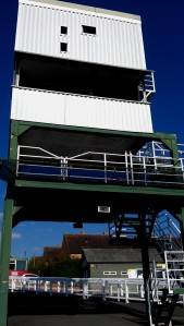 One of the towers at the Race course. We could climb to the top to have a great view!