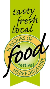 Tasty, fresh, local - the motto of Flavours of Herefordshire Food Festival A.D. 2011