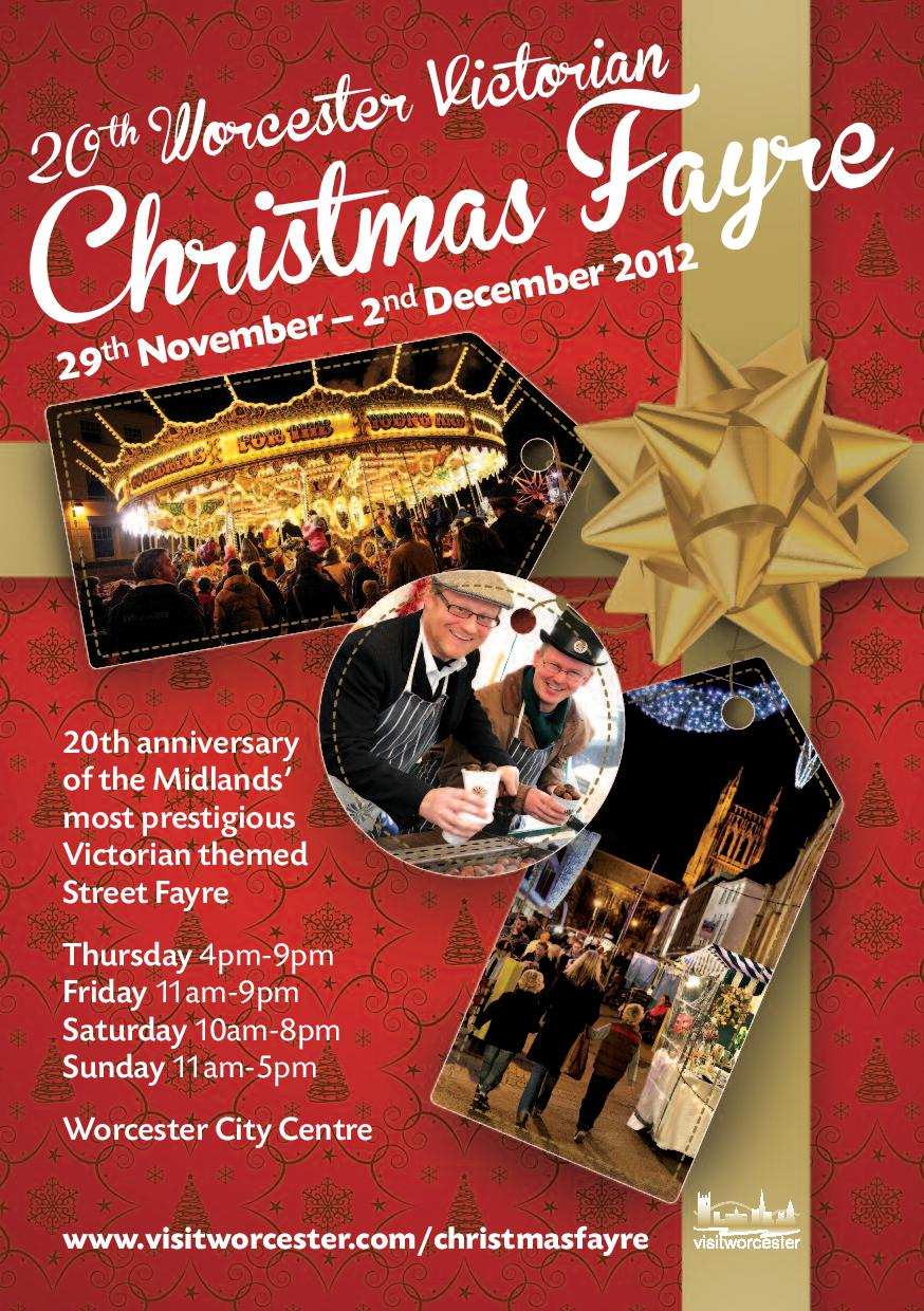 The Wondrous Worcester Victorian Christmas Fayre