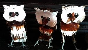 Owls are incredibly popular this year and several of this fugures has been sold on the spot