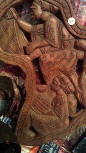 Wooden carvings with incredible amount of details