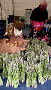 Closer look at the Garlic Farm's stall