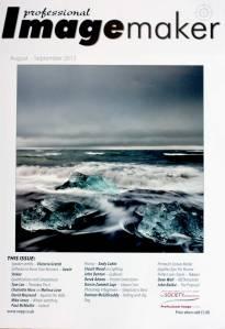 Cover of Professional Imagemaker magazine,  August-September 2013 issue