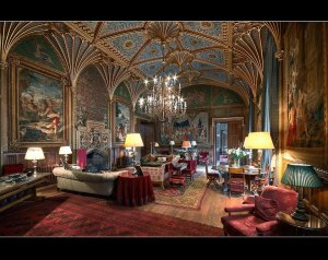 The Gothic Drawing Room - picture taken from official Face Book page