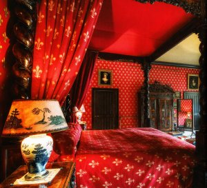 The Famous Red bedroom