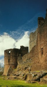 Official picture from English Heritage Guidebook to Goodrich Castle