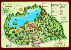 Eastnor Castle map