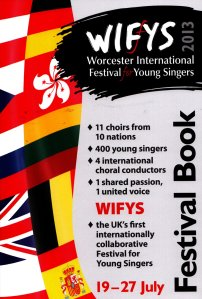 WIFYS festival booklet cover