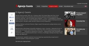 Page for Agencja Gazeta