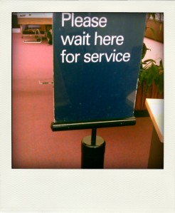 Wait for service
