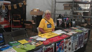 CAMRA official stand  - the lady was very helpful and provided us with several highly useful leaflets! Our friends from Stringer Beer will be delighted to join the festival next year! You can visit their website at:  http://www.stringersbeer.co.uk/