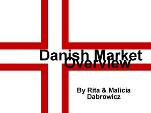 Danish Market Overview front cover