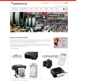 Screenshot of Avantech website as seen on March 13, 2014 promoting upcoming photo talk by Darrin Zammit Lupi