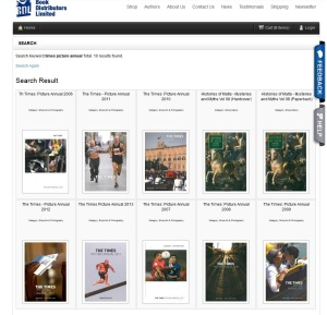 BDL online shop in January 2014 - the whole Time Picture Annual collection