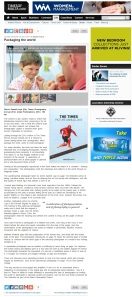 The Sunday Times of Malta, December 29, 2013 - review of Times Picture Annual