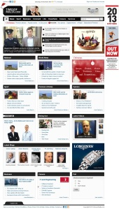 Online ads on Times of Malta website on December 21, 2013