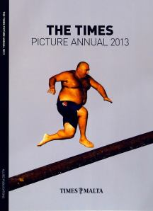 The cover of The Times Picture Annual 2013 edition