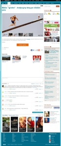 Onet portal, August 26, 2013 (main page)