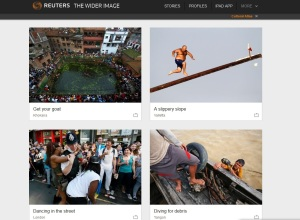 Gostra photos featured on Reuters -The Wider Image - zoom in, December 10, 2013