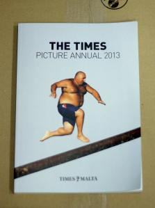 Times Picture Annual 2013, front cover