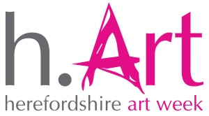 Official Logo for  Herefordshire Art Week