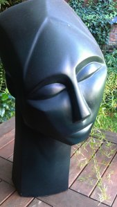 "Sally Grant sculpture entitled ""Remembering Head"""