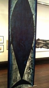 Bluefin (Tuna), wood cut print by Julian Meredith was priced at £6,000 (framed) and £5,00 (unframed)