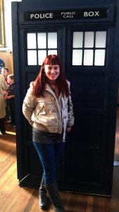 Rita and the Tardis - a new companion?
