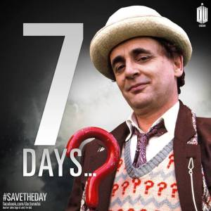 Sylvester McCoy as the Seventh Doctor