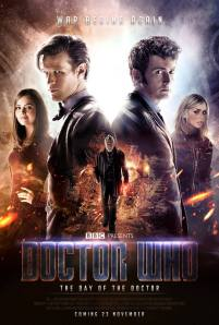"Official movie poster for the ""Day Of The Doctor"""