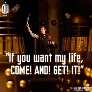 The most important quote from the trailer. Matt Smith will be missed,