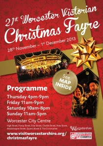 Official Christmas Fayre Program for 2013