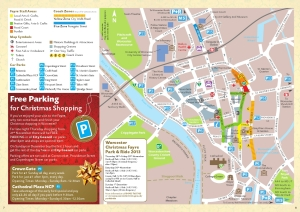 Map of the Fayre and information about the parking