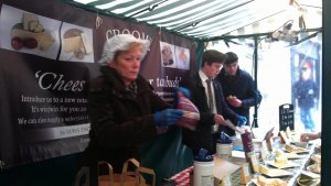 Croome Cuisine stand  was very busy throughout the day - we managed to take only several quick snapshots