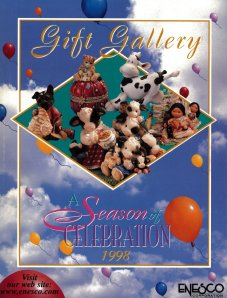Cover of Gift Gallery - scan provided by Enesco. Thank you so very much guys!