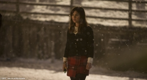 Jenna Coleman as the impossible companion, Clara Oswin-Oswald