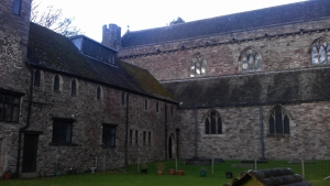 Deanery and  neighboring buildings were once a part of the monsatery