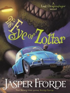 British cover of The Eye of Zoltar