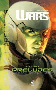Front cover of Wars: The Battle of Phobos (Vol.1) - Preludes