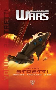 Front cover of WARS: The Battle of Phobos (Vol.2) - Stretti