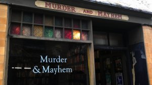 Murder and Mayhem entrance