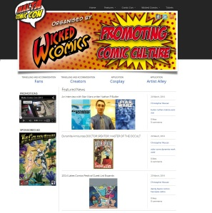 Malta Comic Con website as seen on March 24, 2014