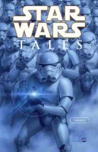 "Star Wars Tales, Volume 6 (released on January 25th 2006), featuring Nathan's ""Equals and Opposites,"" which pits Kyle Katarn and Jan Ors (in their first comic appearance) against the Yuuzhan Vong. This trade paperback includes issues 21 - 24 of the original series."
