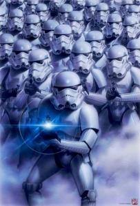 Star Wars Tales Volume 6 promotional poster drawn by Tsueno Sanada.